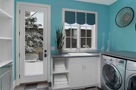 paint colors laundry with laundry sink laundry room traditional
