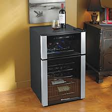 snazzy evolution bottle dual zone wine refrigerator to christmas