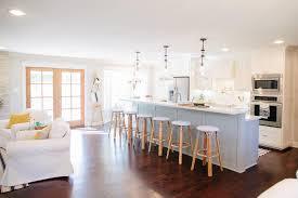 Extra Long Kitchen Island The Green Mile House Magnolia Homes Bloglovin U0027