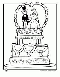 awesome beautiful free wedding coloring pages