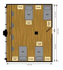 room floor plans coleman halls housing ttu