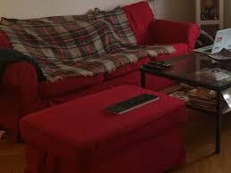 Ikea Sofa Red For Sale Ikea Ektorp 3 Seater Sofa And Ottoman Enge English