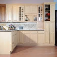 Cabinet Solid Wood Kitchen Cabinet Cabinet Supplier Wholesale - Natural maple kitchen cabinets