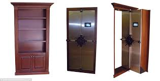 How To Make A Secret Bookcase Door Real Life Panic Rooms For The Rich And Famous Hidden Chambers