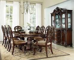 park cherry extendable leg dining room set