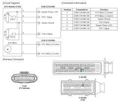 kia soul etc electronic throttle control system schematic