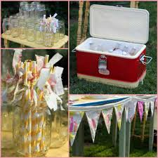 decoration ideas outside minimalis outdoor baby shower image ideas