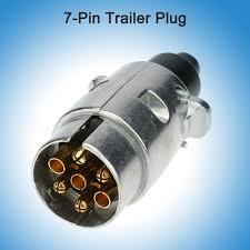 andoer tirol 7 pin trailer plug heavy duty round amazon co uk