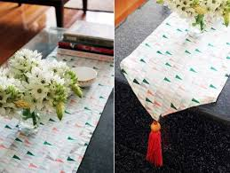 make your own table runner 24 diy wedding table runners you can easily make diy pinterest