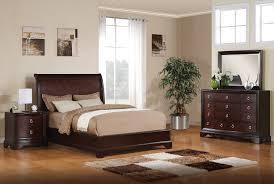Cherry Wood Bedroom Sets Queen Noah 5 Piece Queen Bedroom Set Dark Cherry Leon U0027s