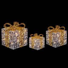 strikingly light up christmas presents ravishing set of 3 led
