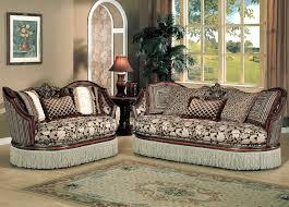Brown Fabric Sofa Set Traditional Fabric Sofa Set Y90 Traditional Sofas