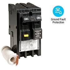 square d homeline 40 2 pole gfci circuit breaker hom240gfi the