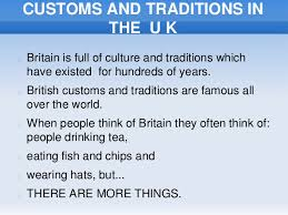 customs and traditions in the uk