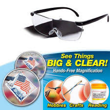 magnifying eyeglasses with light as seen on tv tv magnifier ebay