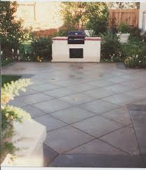 Pea Gravel And Epoxy Patio by Brushed Concrete Colors Driveways Patios Pool Decks And