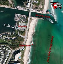 Boynton Beach Florida Map by Ocean Inlet Park Boynton Beach Dive Site