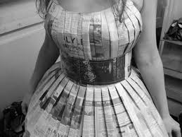 sew a newspaper dress 20 steps with pictures
