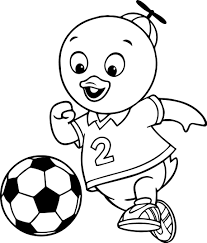 the backyardigans coloring page wecoloringpage
