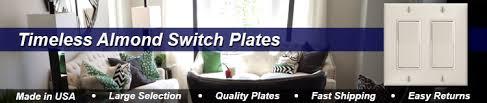 light almond switch plate covers light almond switch plate almond outlet covers rocker switch plates