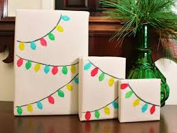 Diy Christmas Wrapping Paper Pinterest