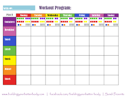 Meal Plan Excel Template Meal Planning Template Weekly Meal Planning Can Significantly