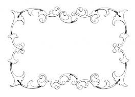 clip free frame frame border ornament decorative