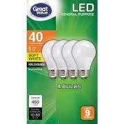 led light bulbs walmart
