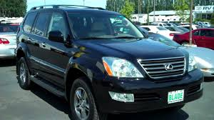 red lexus 2008 2008 lexus gx 470 youtube