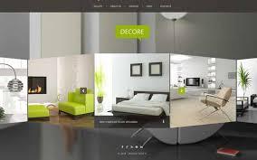 Interior Design  Furniture Website Templates - House interior design websites