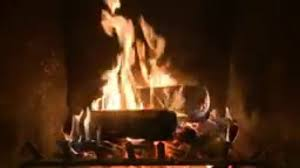 holiday yule log fireplace video video dailymotion