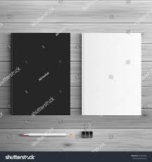 template advertising corporate identity catalog blank stock vector