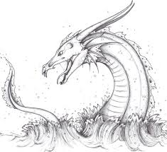 sea serpent drawing google search loch ness monster tattoo
