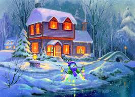 Winter Houses by Winter Houses Snow Beautiful Xmas Bright Four Bridges Winter