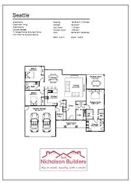 seattle 26 l house plans l nicholson builders l greater shepparton