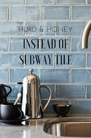 instead of subway tile kitchen backsplash ideas hurd honey instead of subway tile kitchen backsplash ideas