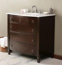 White Bathroom Vanity With Black Granite Top by Bathroom Wooden Narrow Depth Bathroom Vanity With Black