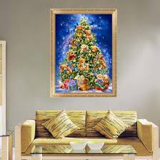 tree embroidery set home decor promotion shop for promotional tree
