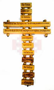 the lord prayer cross small bethlehem crafts