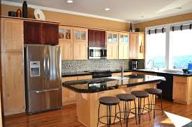 kitchen countertop ideas with maple cabinets 27 best black pearl granite countertops design ideas