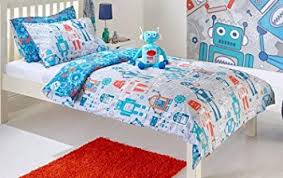 Duvet Cover Double Bed Size Robot Duvet Cover Set Toddler Bed Single Bed Double Bed