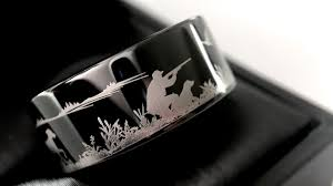 duck band wedding ring duck ring fisherman ring duck band wedding ring black