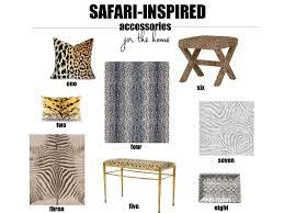 safari home decor african style living room design jungle themed