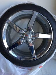 chrome corvette wheels 2014 corvette stingray chrome wheels tires for sale 2700