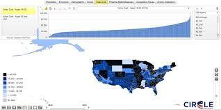2014 Election Map by Circle 2014 Election Center