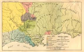 Louisiana Mississippi Map by Indian Tribes Of The Lower Mississippi
