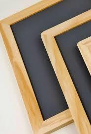 wood framed framed chalkboards 7x10 pack of 6