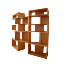 Beech Bookcases Uk Italian Wide Beech Bookcase By Franco Poli For Bernini 1995 For