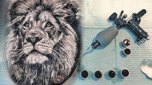 lion tattoo time lapse design by otheser download