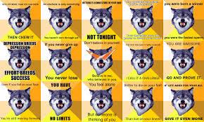 Wolf Meme - courage wolf meme walldevil